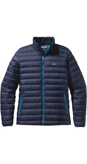 Patagonia M's Down Sweater Navyblue W Underwaterblue